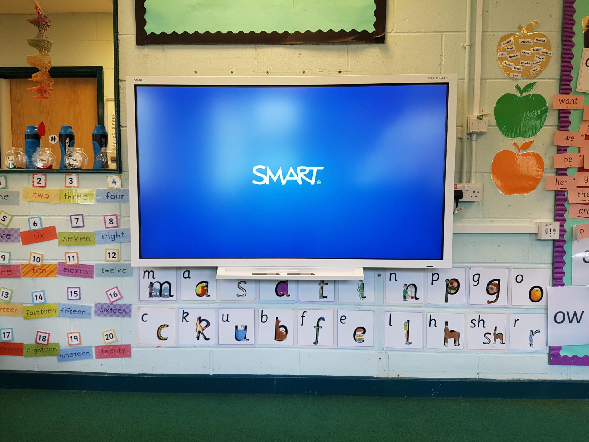 SMART 4065 Interactive Screen Install