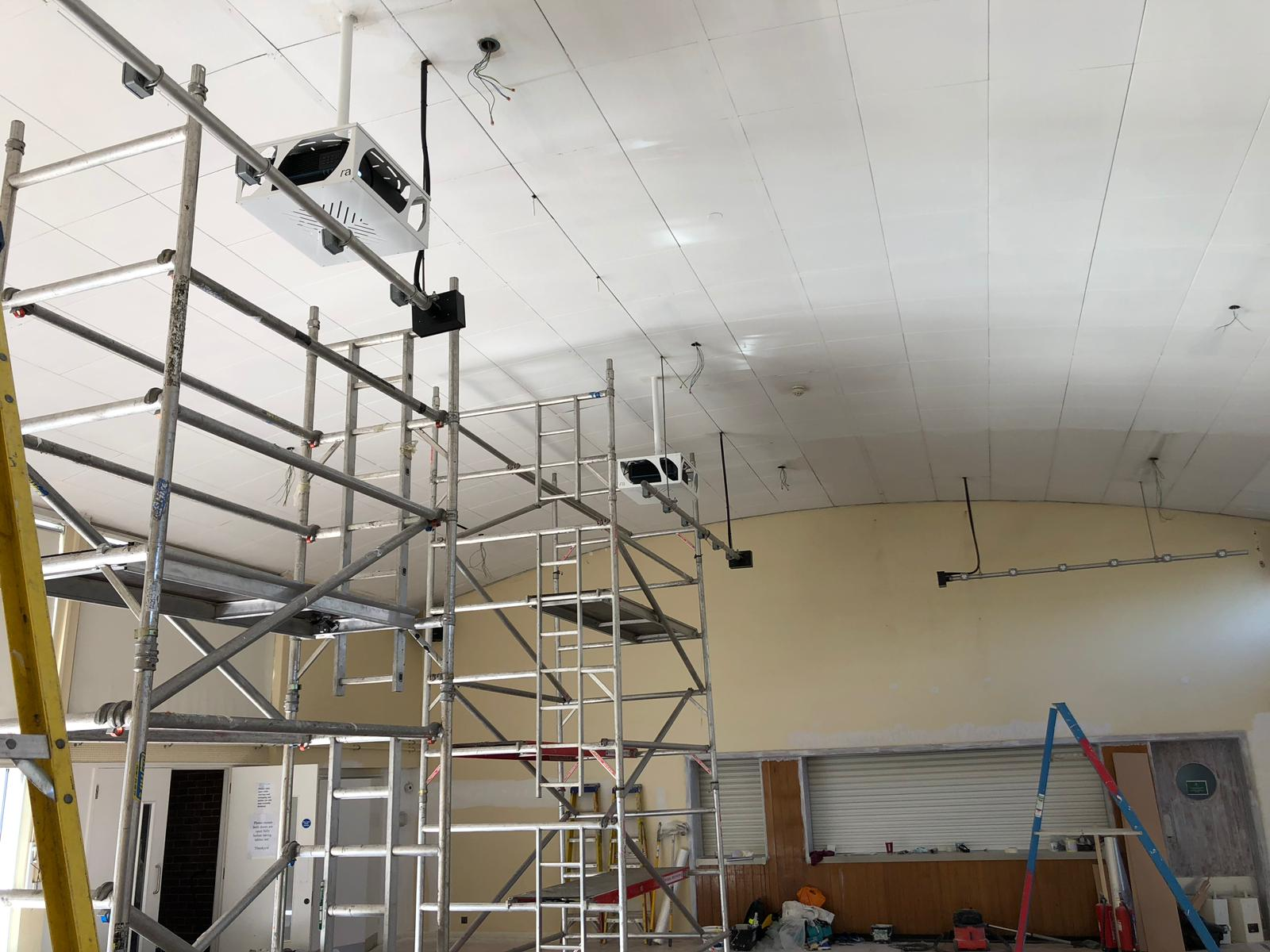 Holy Family School Hall Project