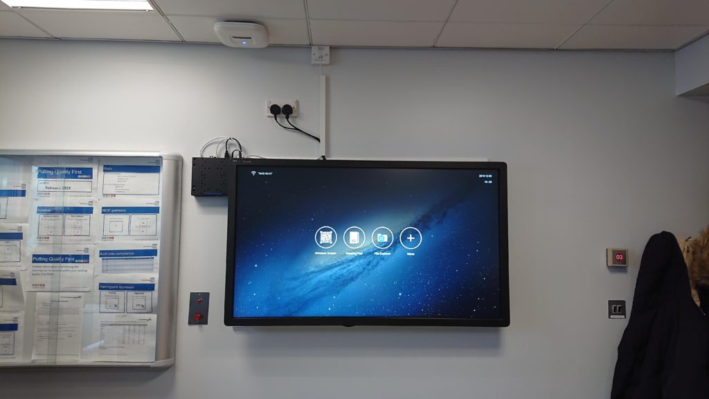 NHS Hospital Installation