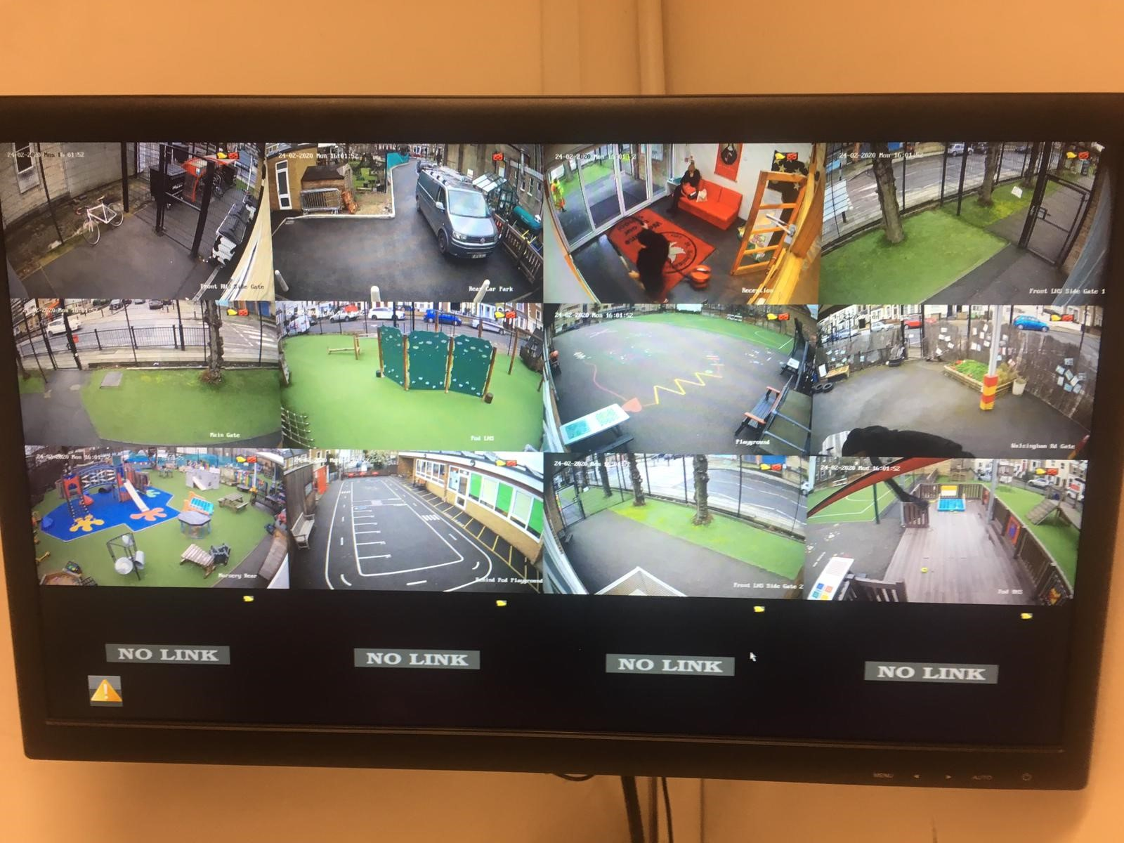 St Scholasticas Catholic Primary CCTV Installation