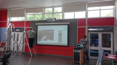 Harlow School Hall AV Installation