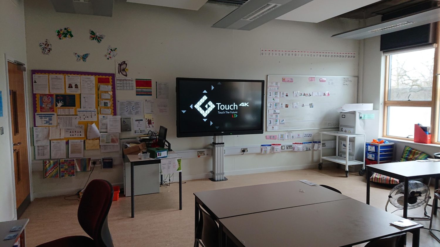 Priory School Screens Installation