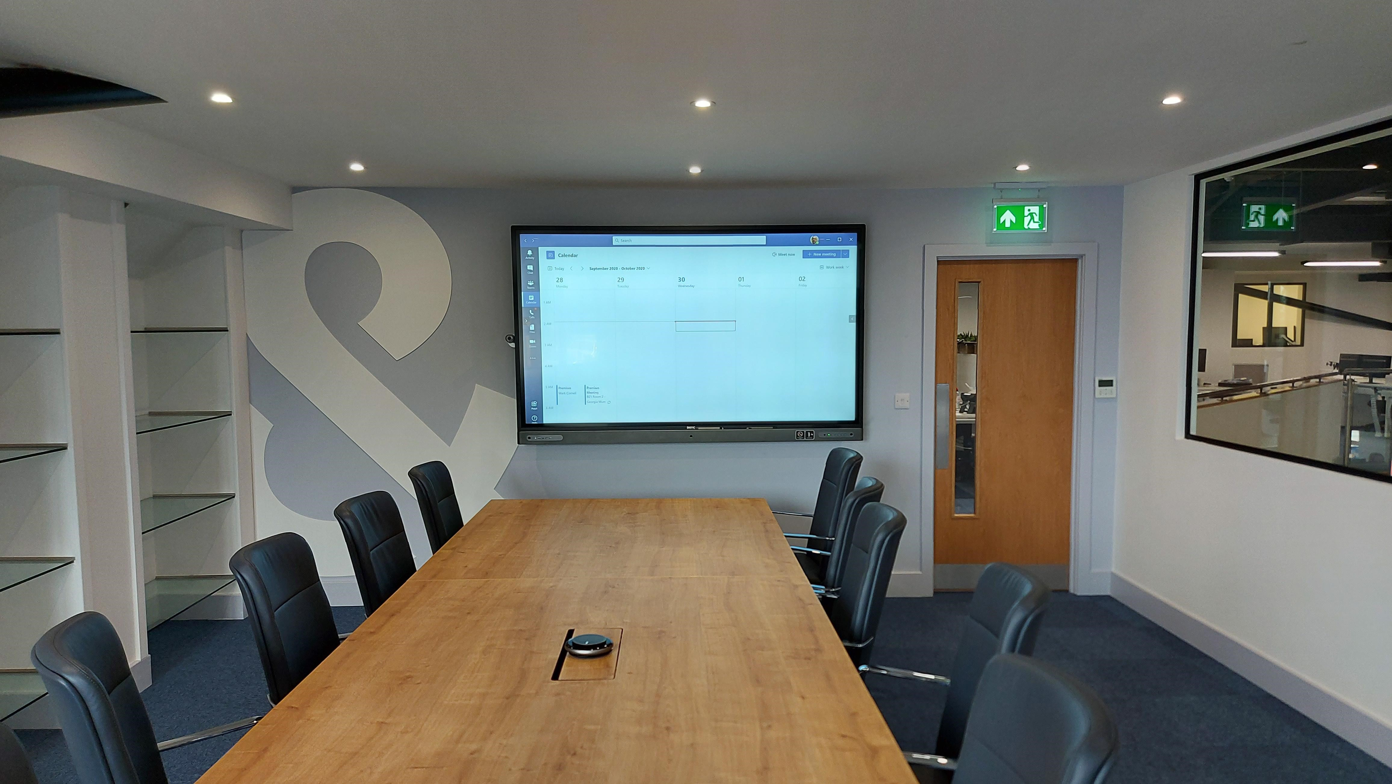 Holmes and Hills Solicitors AV installation