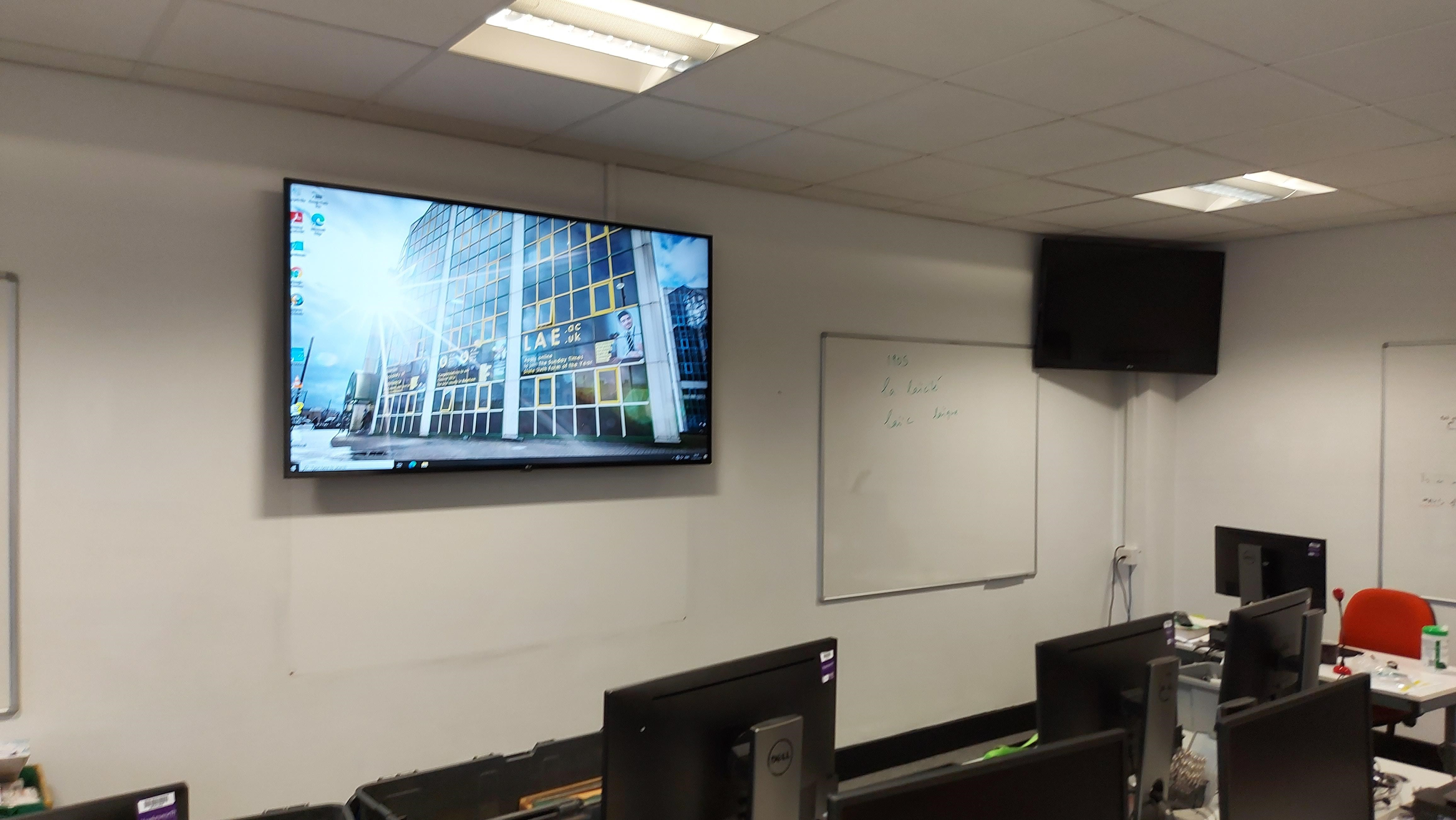 LAE Stratford Audio Visual Installation