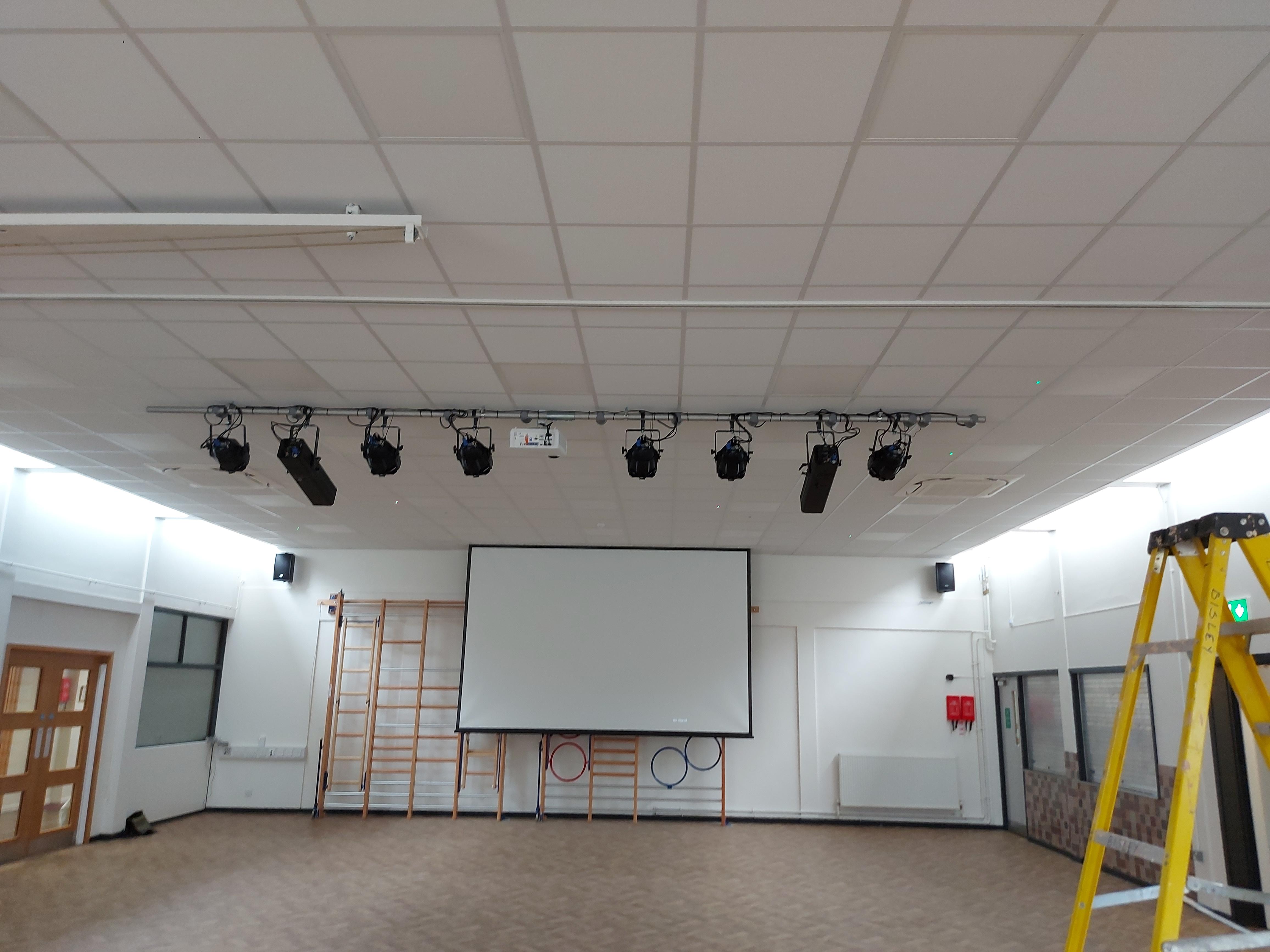 Cardinal Newman School Hall AV Installation