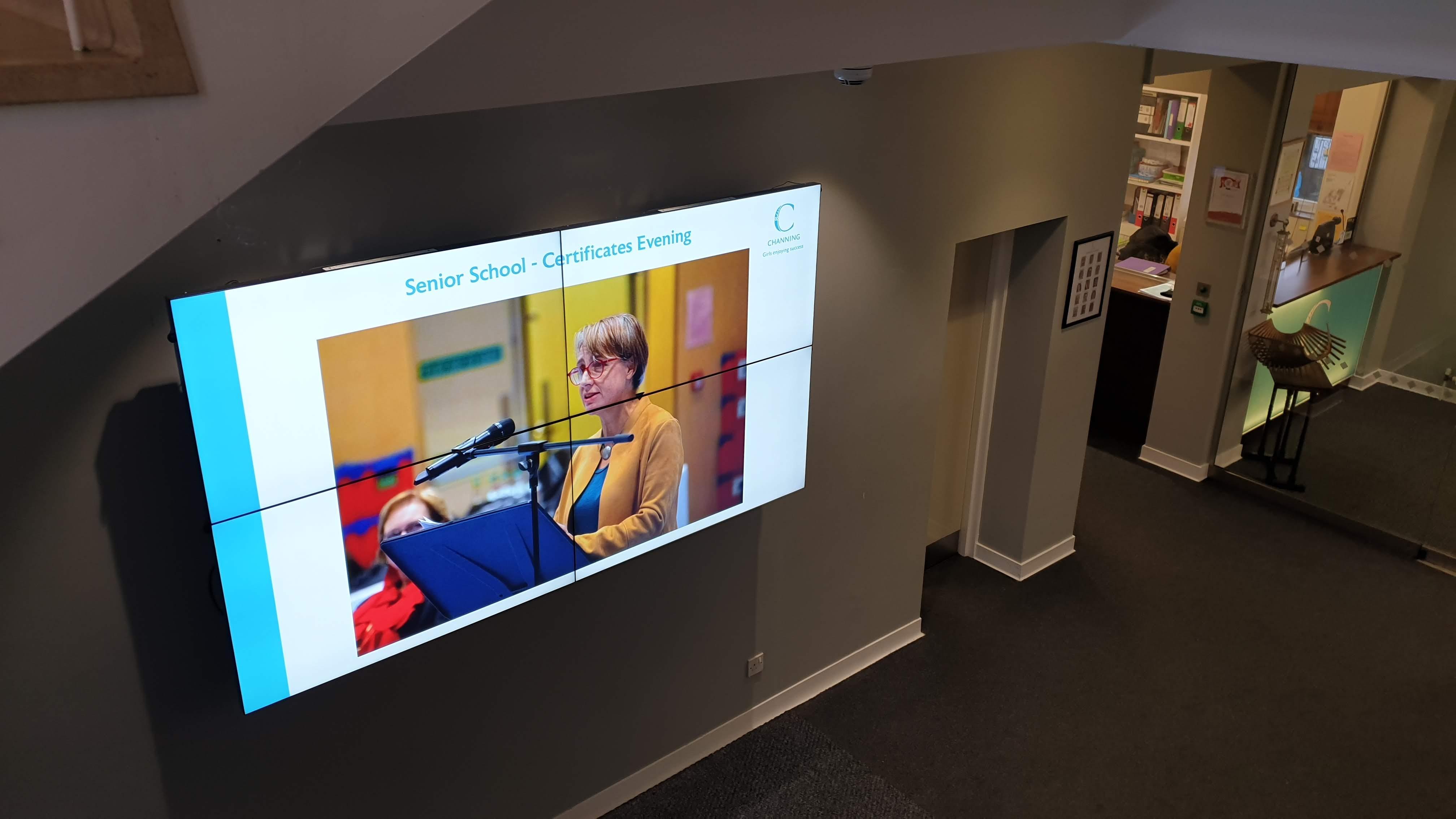 Essex School Trilby TV Digital Signage Project